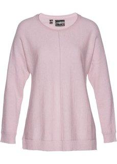Пуловер (розовый матовый) Bonprix
