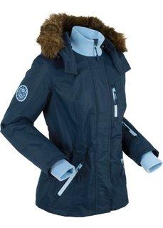 Куртка с уютной подкладкой и ватным наполнителем (темно-синий) Bonprix