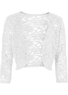 Жакет-болеро (цвет белой шерсти) Bonprix