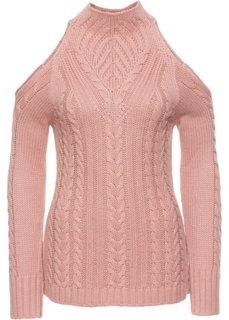 Пуловер (розовый) Bonprix