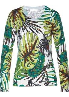 Пуловер (различные расцветки с рисунком) Bonprix