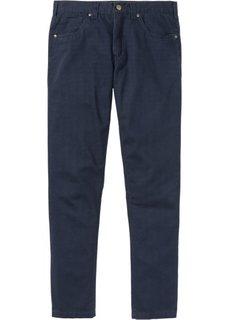 Прямые классические брюки, cредний рост (N) (темно-синий) Bonprix