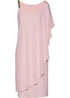 Вечернее платье с воланом (нежно-розовый) Bonprix