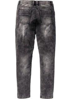 Трикотажные джинсы Skinny Fit Straight, длина (в дюймах) 32 (серый деним) Bonprix