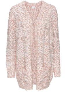 Кардиган (винтажно-розовый/белый) Bonprix