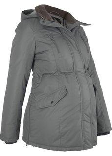 Куртка для беременных (дымчато-серый) Bonprix