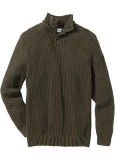 Пуловер RegularFit (кремовый) Bonprix