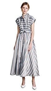 Rossella Jardini Striped Midi Dress