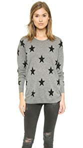 Zoe Karssen Loose Fit Straight Stars Sweater