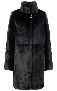 Черная норковая шуба Fellinberg