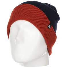 Шапка Element Carrier Beanie Indigo Nati Red