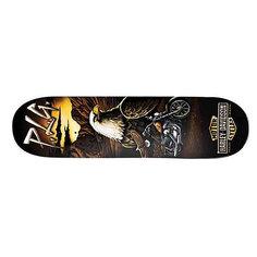Дека для скейтборда для скейтборда Darkstar Harley-davidson Vintage Manolo 31.6 x 8 (20.3 см)