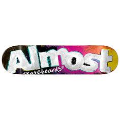 Дека для скейтборда для скейтборда Almost Art School Hyb Black 31.6 x 8 (20.3 см)