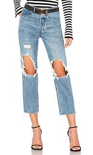 Укороченные джинсы бойфренд higher ground - 3x1