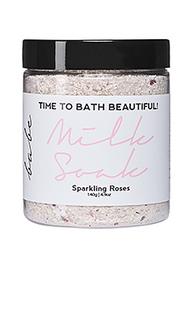 Молочко для ванны sparkling rose - Babe