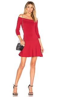 Платье с открытыми плечами whitley - cupcakes and cashmere