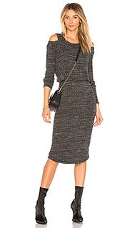 Платье свитер double layer - MONROW