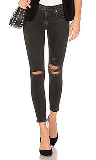 Укороченные джинсы скинни со средней посадкой nico - Hudson Jeans