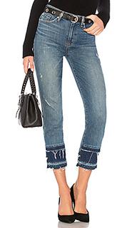 Прямые укороченные джинсы с высокой посадкой zoeey - Hudson Jeans