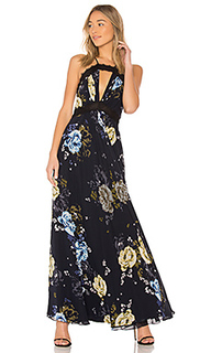 Вечернее платье lace trim - JILL JILL STUART