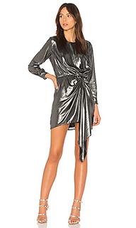 Платье с драпировкой seymore - krisa