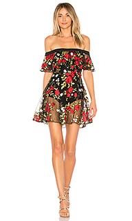 Платье с открытыми плечами erica - Lovers + Friends