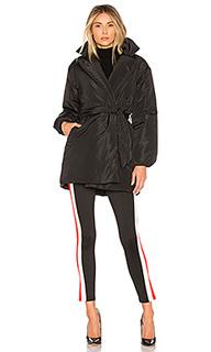 Стеганое пальто с поясом lily - Lovers + Friends