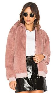 Куртка из искусственного меха fluffy hooded - MINKPINK