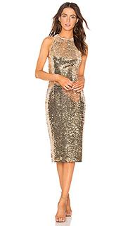 Облегающее миди платье amya - Misha Collection