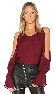 Блузка с длинным рукавом devon - NILI LOTAN