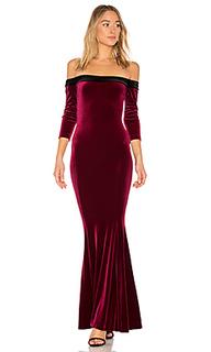 Вечернее платье с открытыми плечами - Norma Kamali