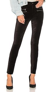 Бархатные брюки high rise edgemont - PAIGE