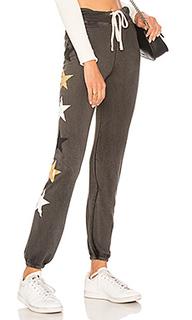 Свободные брюки side stars - SUNDRY
