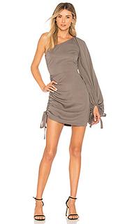 Мини-платье на одно плечо jane - Tularosa