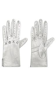 Кожаные перчатки xoxo - Yestadt Millinery