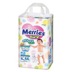 Трусики-подгузники для детей Merries, L 9-14 кг, 44 шт.