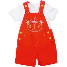 Комплект: футболка и полукомбинезон для мальчика PlayToday