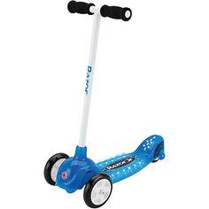 Детский трёхколёсный самокат Lil Tek, синий, Razor