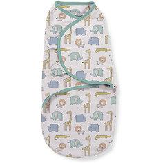Конверт на липучке Swaddleme, размер S/M, сафари Summer Infant