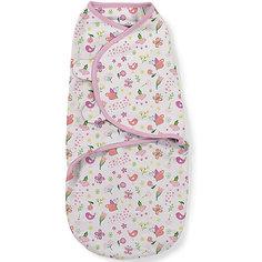 Конверт на липучке Swaddleme, размер L , бабочки цветочки Summer Infant