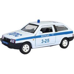Коллекционная машинка Autotime Lada 2108 Милиция, 1:36