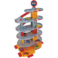 """Игровой набор Faro """"Гараж"""" 6 уровней, 69 см"""