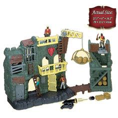 """Игровой набор Red Box """"Пиратская крепость"""" с аксессуарами, электронная"""