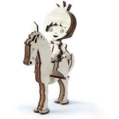 """Сборная деревянная модель Lemmo """"Принц на лошади"""", подвижная"""