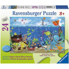 """Пазл """"Подводные сокровища"""" 24 шт (размер картинки 90*60 см) Ravensburger"""