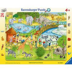 """Пазл """"Весёлый зоопарк"""" 24 шт Ravensburger"""