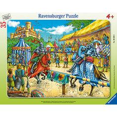 Пазл «Рыцарский турнир» 35 шт Ravensburger