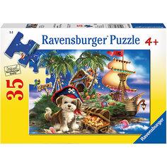 Пазл «Щенок-пират» 35 шт Ravensburger