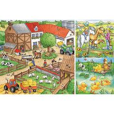 Пазл «Животные на ферме»  3х49шт Ravensburger