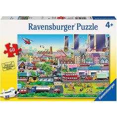 Пазл «Оживлённый город» 60 шт Ravensburger